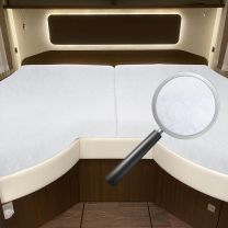 Morelo Ensemble de protection du matelas du lit longitudinal