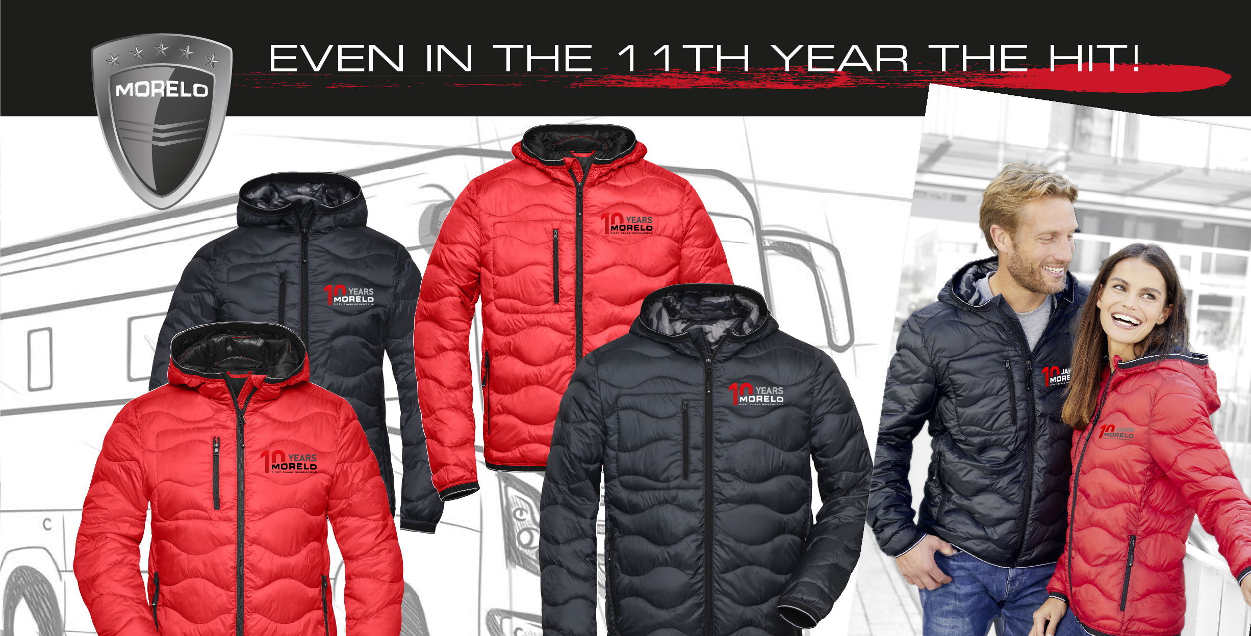 get your anniversary jacket!